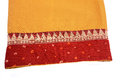 Sari fabric colorful indian asian Royalty Free Stock Photography