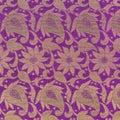 Sari texture detail Royalty Free Stock Photo