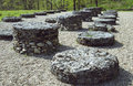 Sarmizegetusa Regia Big Limestone Sanctuary Royalty Free Stock Photo
