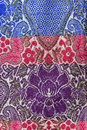 Sarong fabric background for pattern Stock Image