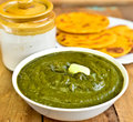 Sarson da saag Royalty Free Stock Photo