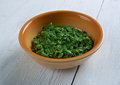 Sarson ka saag Royalty Free Stock Photo
