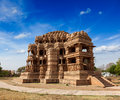 Sasbahu temple in gwalior fort sas bshu ka mandir sahastrabahu madhya pradesh india Royalty Free Stock Photography