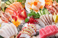 Sashimi background Royalty Free Stock Image