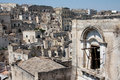 Sassi di Matera cityscape Royalty Free Stock Photography