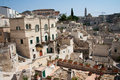 Sassi di Matera cityscape Royalty Free Stock Photos
