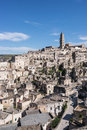 Sassi di matera italy view of southern Royalty Free Stock Photo