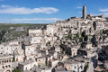 Sassi di matera italy view of southern Royalty Free Stock Photos