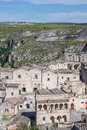 Sassi di matera italy view of southern Royalty Free Stock Image