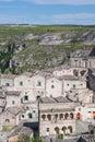 Sassi di matera italy view of southern Royalty Free Stock Image