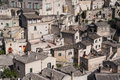 Sassi di matera italy view of southern Royalty Free Stock Photography