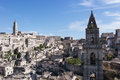 Sassi di matera italy view of southern Stock Photography