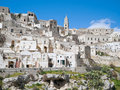 Sassi of Matera. Basilicata. Stock Photo