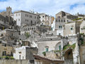 Sassi of Matera. Basilicata. Stock Photos