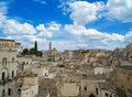 Sassi of Matera. Basilicata. Stock Photography