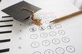 SAT exam Royalty Free Stock Photo
