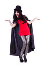 Satan halloween concept isolated on white Royalty Free Stock Images
