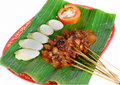 Sate indonesian legendary food Stock Photo