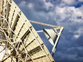 Satelite dish modern radio telescope Royalty Free Stock Photography