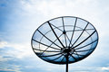 Satellite antenna dish Stock Photos