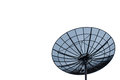 Satellite dish antenna isolated on white background Stock Image