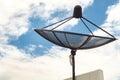 Satellite Dishes Royalty Free Stock Photo