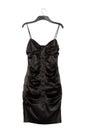 Satin dress Royalty Free Stock Photo