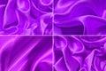 Satin fabric texture