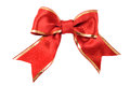 Satin ribbon bow Royalty Free Stock Photos