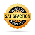 Satisfaction guarantee icon Royalty Free Stock Photo