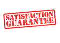 SATISFACTION GUARANTEE Royalty Free Stock Photo