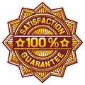 Satisfaction guarantee sign satisfaction guarantee symbol satisfaction guarantee label satisfaction guarantee seal Royalty Free Stock Photography
