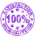 Satisfaction guarantee stamp (vector file included Royalty Free Stock Photo