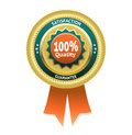 Satisfaction guarantee vector label Royalty Free Stock Photo