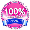 A satisfaction guaranteed Royalty Free Stock Photo