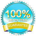A satisfaction guaranteed Royalty Free Stock Images