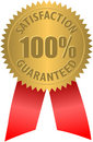 Satisfaction Guaranteed Seal Royalty Free Stock Photos