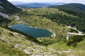 Satorsko lake - in the western regions of Bosnia Stock Photos