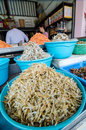 Sattahip rayong thailand dried fish shop in seafood at Stock Photos