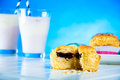 Saturated composition of delicious sweets sweet and tasty homemade Royalty Free Stock Photography