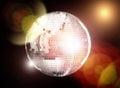 Saturday disco fever Royalty Free Stock Photo