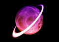 Saturn neptune in our solar system Royalty Free Stock Photo