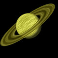 Saturn planet Royalty Free Stock Photo