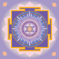 Saturn Yantra Royalty Free Stock Images