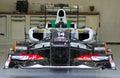 Sauber F1 Royalty Free Stock Photo