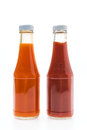 Sauce bottle Royalty Free Stock Photo