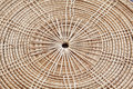 Saucer form bamboo by handmade Stock Image