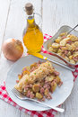 Sauerkraut dumplings a silesia fresh Royalty Free Stock Photos