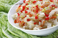 Sauerkraut salad Royalty Free Stock Photo