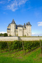 Saumur castle in the Loire Valley Stock Photography